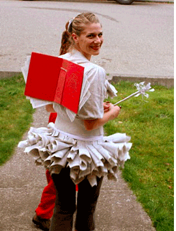 library costume