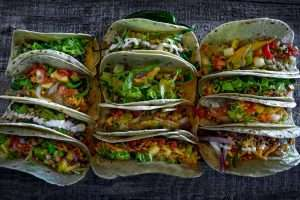Lots of Vegan Tacos