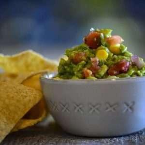 AvoCorn Salsa and Chips