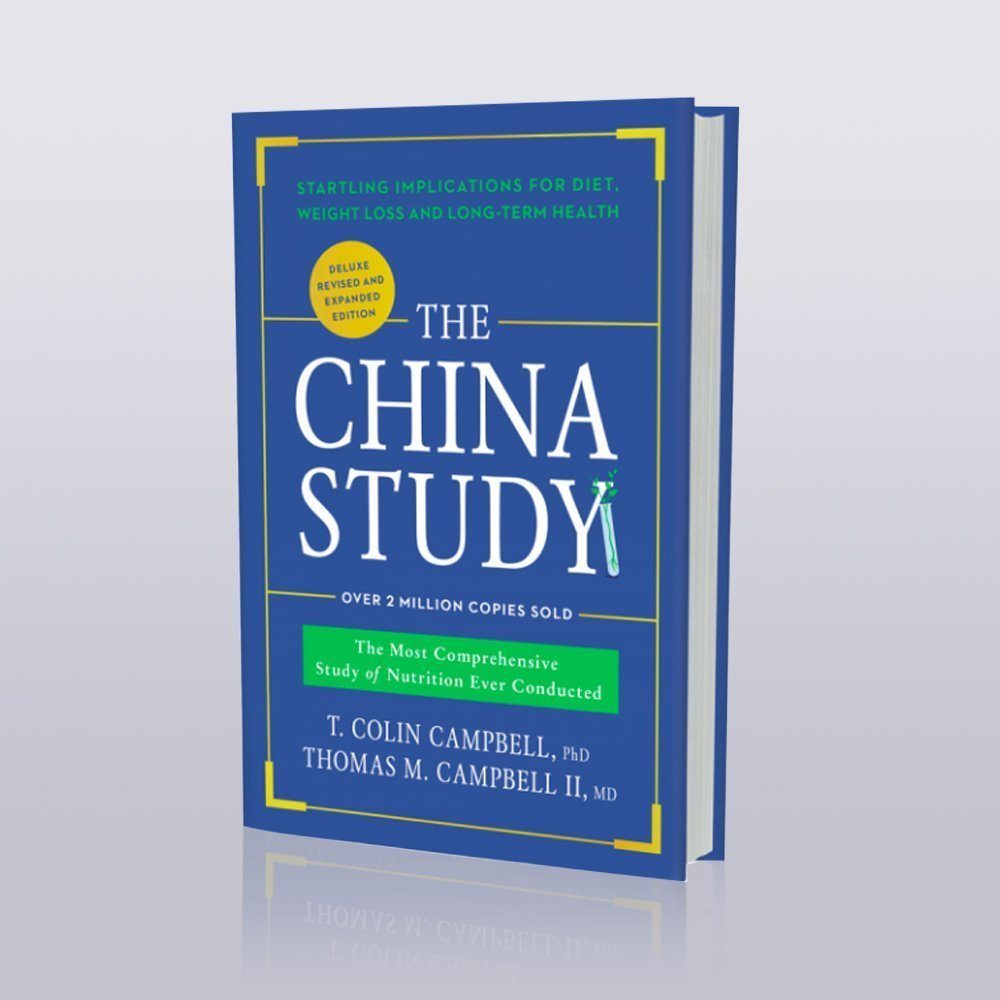 Book cover photo of The China Study