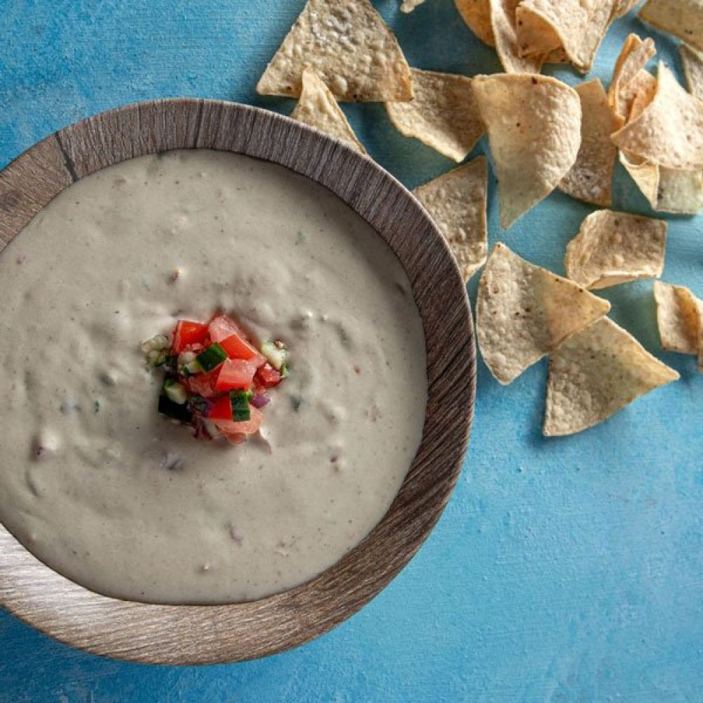 Chips with a side of Queso
