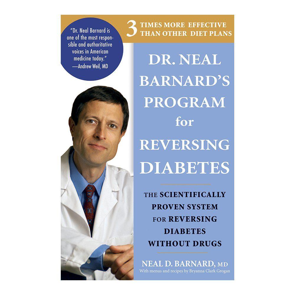 Book cover of Dr. Neal Barnard's Program for Reversing Diabetes