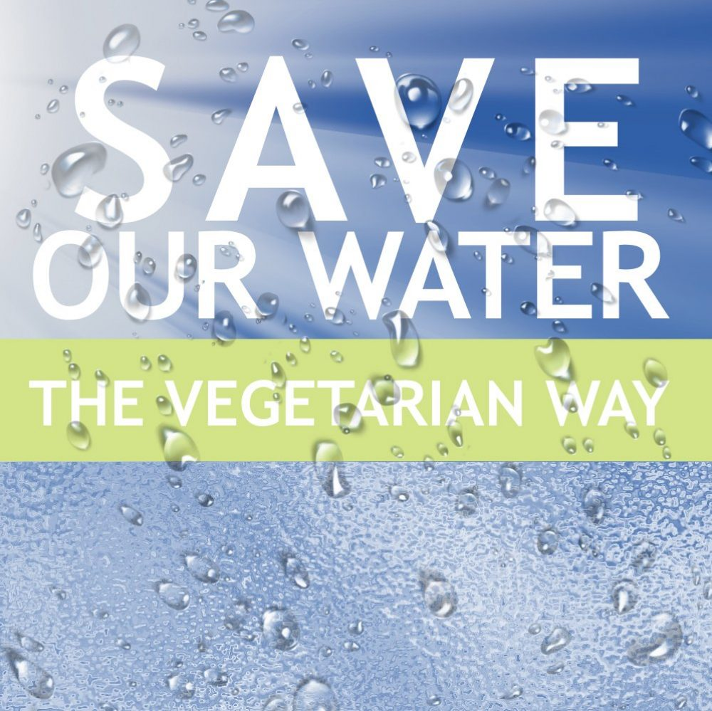 Save our Water - The vegetarian way