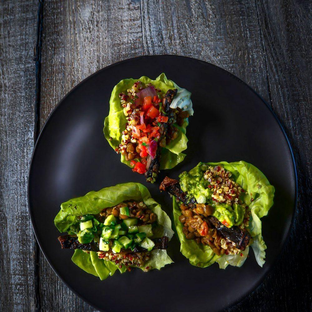 Butter Leaf Lettuce Wrap Tacos