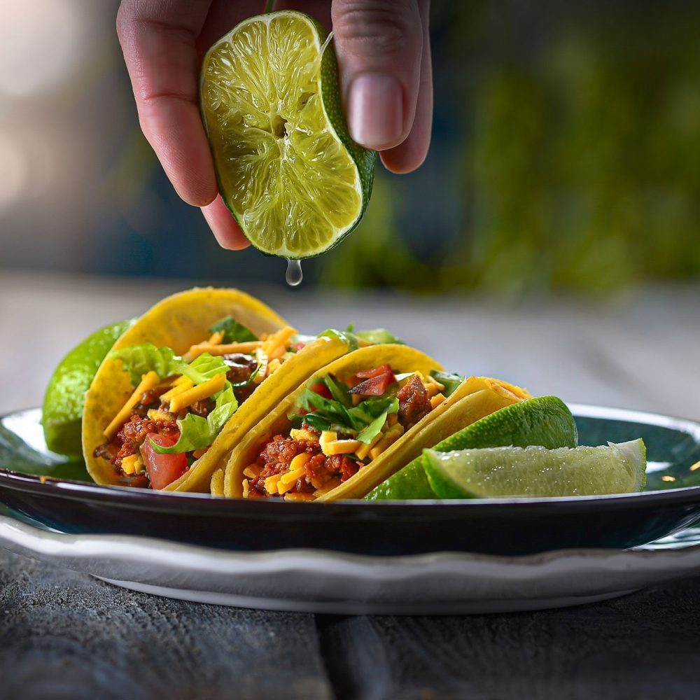Tacos With Lime Drip